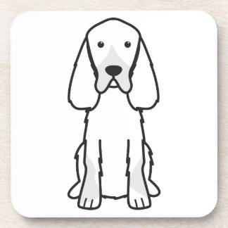 Dibujo animado del perro del organismo de Gordon Posavasos De Bebida