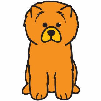 Dibujo animado del perro del perro chino de perro  escultura fotografica