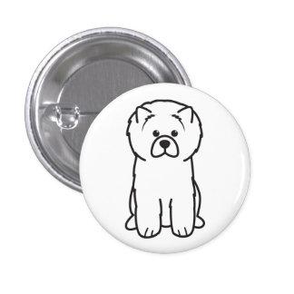 Dibujo animado del perro del perro chino de perro pin