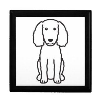 Dibujo animado del perro del perro de aguas de agu cajas de regalo