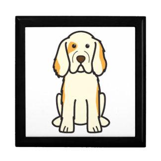 Dibujo animado del perro del perro de aguas de Clu Cajas De Recuerdo
