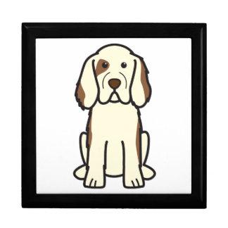 Dibujo animado del perro del perro de aguas de Clu Caja De Recuerdo