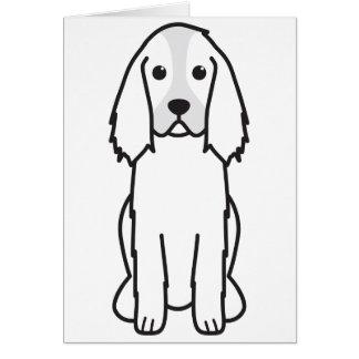 Dibujo animado del perro del perro de aguas de sal tarjetas