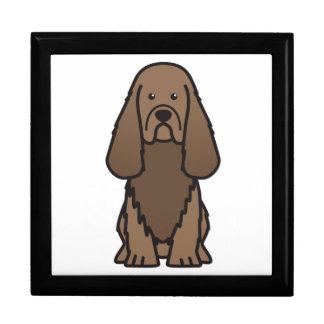 Dibujo animado del perro del perro de aguas de Sus Cajas De Regalo