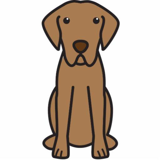 Dibujo animado del perro del perro perdiguero de b esculturas fotográficas
