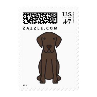Dibujo animado del perro del perro perdiguero de sello