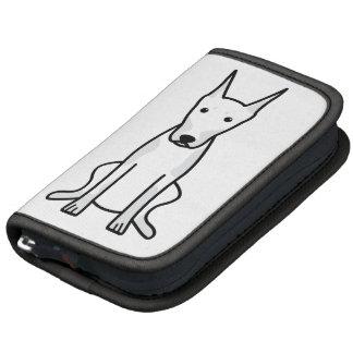 Dibujo animado del perro del Pinscher del Doberman Planificadores