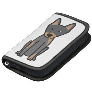 Dibujo animado del perro del Pinscher del Planificadores