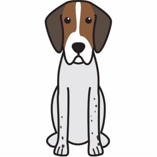 Dibujo animado del perro del raposero inglés esculturas fotograficas