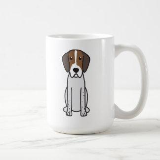 Dibujo animado del perro del raposero inglés taza de café