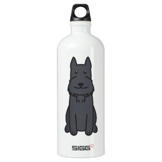 Dibujo animado del perro del Schnauzer gigante