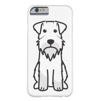 Dibujo animado del perro del Schnauzer miniatura Funda Para iPhone 6 Barely There