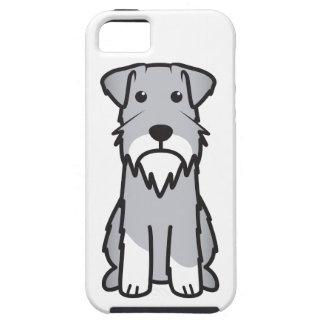 Dibujo animado del perro del Schnauzer miniatura iPhone 5 Carcasa
