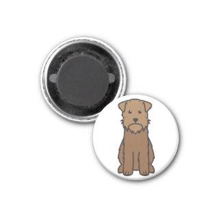 Dibujo animado del perro el señalar Griffon Wireha Iman De Frigorífico