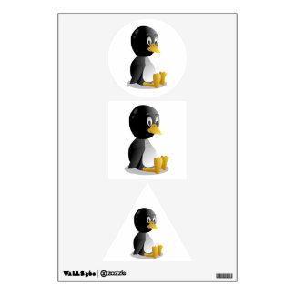 Dibujo animado del pingüino