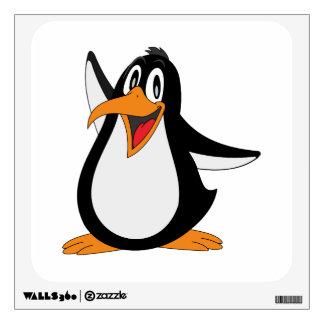 Dibujo animado del pingüino vinilo