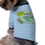 Dibujo animado del profesor de inglés en color camiseta de mascota