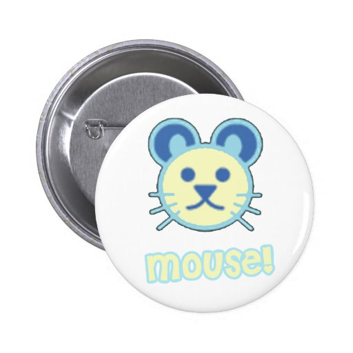 Dibujo animado del ratón del bebé pins