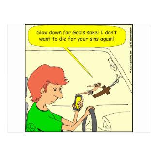 Dibujo animado del retraso de 476 Jesuses Tarjetas Postales