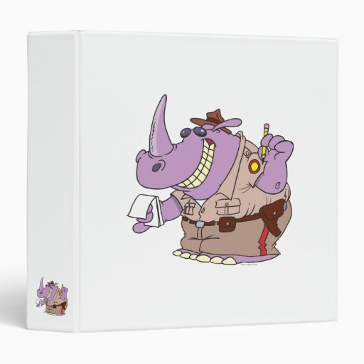 dibujo animado del rinoceronte del rinoceronte del