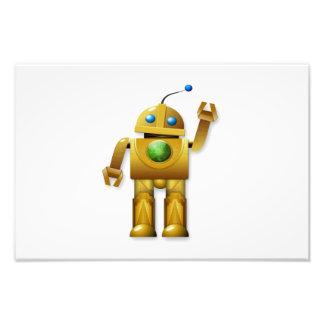 Dibujo animado del robot