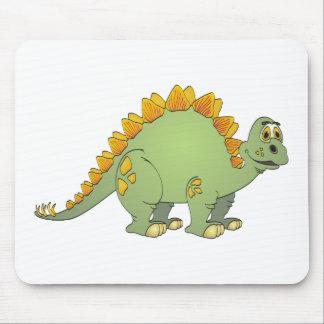 Dibujo animado del Stegosaurus Alfombrilla De Ratones