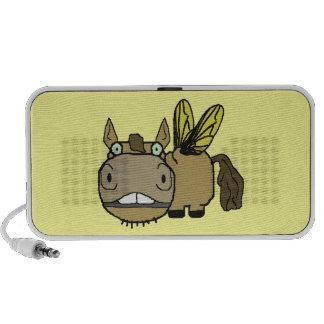 Dibujo animado del tábano del caballo de Schnozzle iPhone Altavoz
