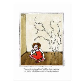 Dibujo animado del TALENTO de Ellen Elliott Tarjetas Postales