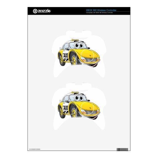 Dibujo animado del taxi mando xbox 360 skin