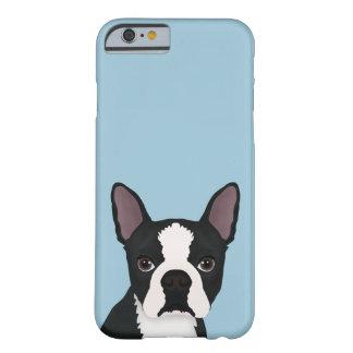 dibujo animado del terrier de Boston Funda Para iPhone 6 Barely There