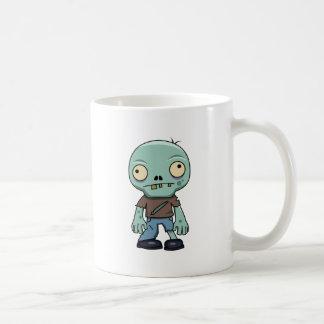 Dibujo animado del zombi taza clásica