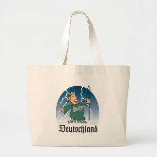 Dibujo animado Deustchland Bolsa De Mano