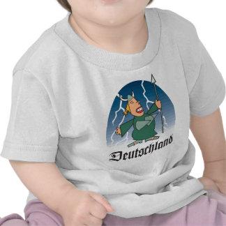 Dibujo animado Deustchland Camiseta