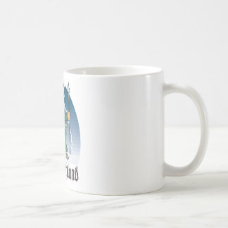 Dibujo animado Deustchland Tazas De Café