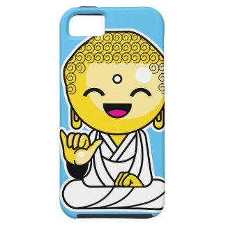 Dibujo animado divertido de Buda de la hawaiana Funda Para iPhone SE/5/5s