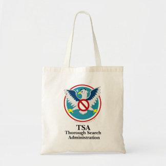 Dibujo animado divertido de Eagle TSA (toque mis d Bolsa Tela Barata