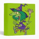 dibujo animado divertido de Halloween de la bruja