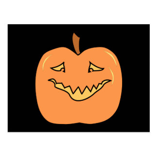 Dibujo animado divertido de la calabaza de Hallowe Postales