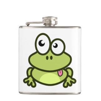 Dibujo animado divertido de la rana