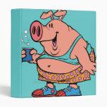 dibujo animado divertido del cerdo del cerdo del j