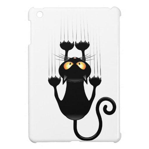 Dibujo animado divertido del gato negro que rasguñ   Zazzle