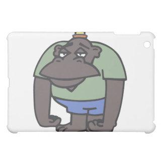 Dibujo animado enojado del mono