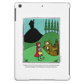 Dibujo animado ESCÉPTICO de Ellen Elliott Funda Para iPad Air