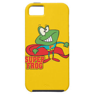 dibujo animado estupendo lindo del super héroe de  iPhone 5 Case-Mate carcasa