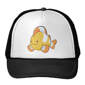 Dibujo animado feliz Clownfish Gorro De Camionero