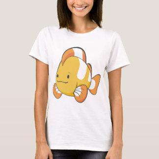 Dibujo animado feliz Clownfish Playera