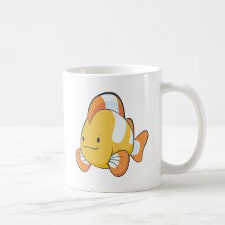 Dibujo animado feliz Clownfish Taza Clásica
