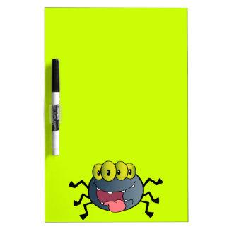 DIBUJO ANIMADO FELIZ DE _2387-Happy-Spider-Cartoon Tableros Blancos