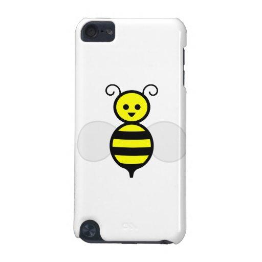 Dibujo animado feliz de la abeja funda para iPod touch 5G