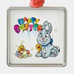 Dibujo animado feliz de Pascua Ornamentos Para Reyes Magos